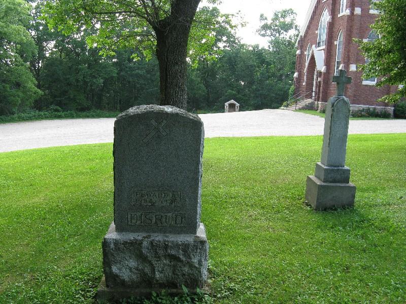 Disrud Monument - 1148, Disrud, Edward A.